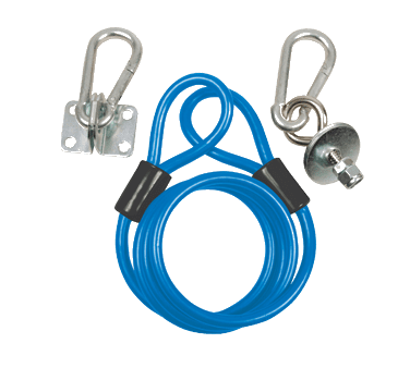 BK Resources BKG-RCK-48 Restraining Cable Kit, fits 48…