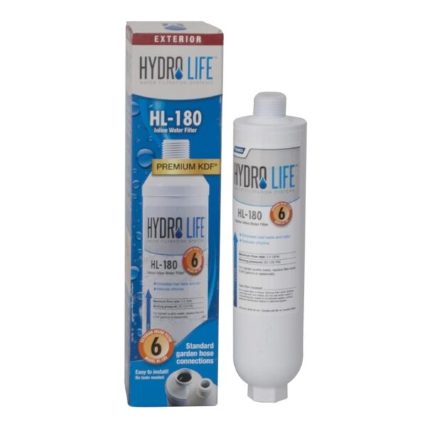 BK Resources BKHL-180 In-Line Hose Water Filter