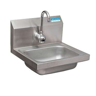 BK Resources BKHS-W-1410-1-4D-P-G Hand Sink, wall mount