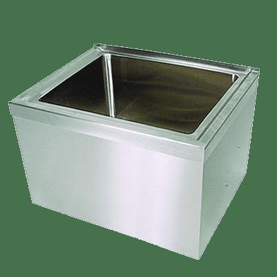 BK Resources BKMS-1620-6 Mop Sink, floor mount