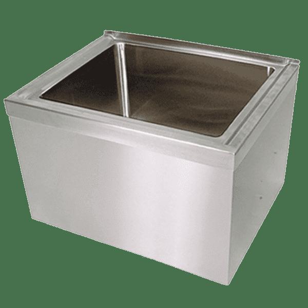 BK Resources BKMS-2424-12 Mop Sink, floor mount