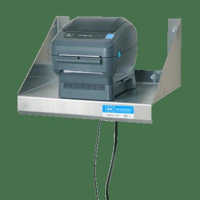 BK Resources BKPS-1410 Printer Shelf