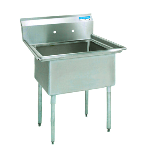 BK Resources BKS-1-15-14 Sink, one compartment