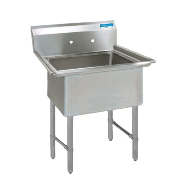 BK Resources BKS-1-15-14S Sink, one compartment