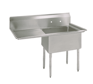 BK Resources BKS-1-1620-12-18L Sink, one compartment