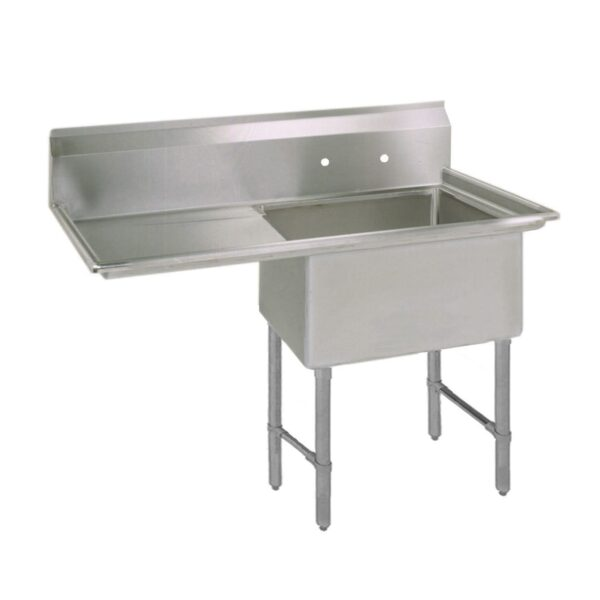 BK Resources BKS-1-1620-12-18LS Sink, one compartment