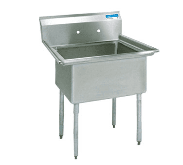 BK Resources BKS-1-1620-12 Sink, one compartment