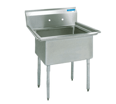 BK Resources BKS-1-24-14 Sink, one compartment