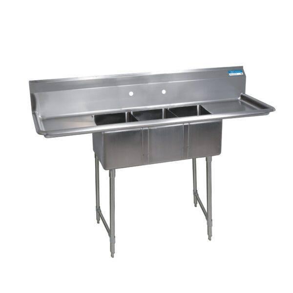 BK Resources BKS-3-1014-10-12TS Convenience Store Sink