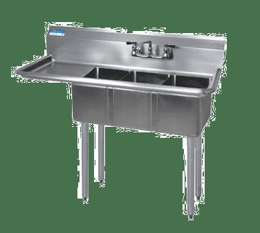 BK Resources BKS-3-1014-10-15L Convenience Store Sink