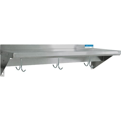 BK Resources BKWS-1230-PR Premium Overshelf, wall mount …