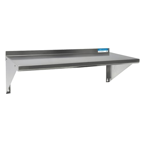 BK Resources BKWS-1260 Premium Shelf, wall-mounted, 6…