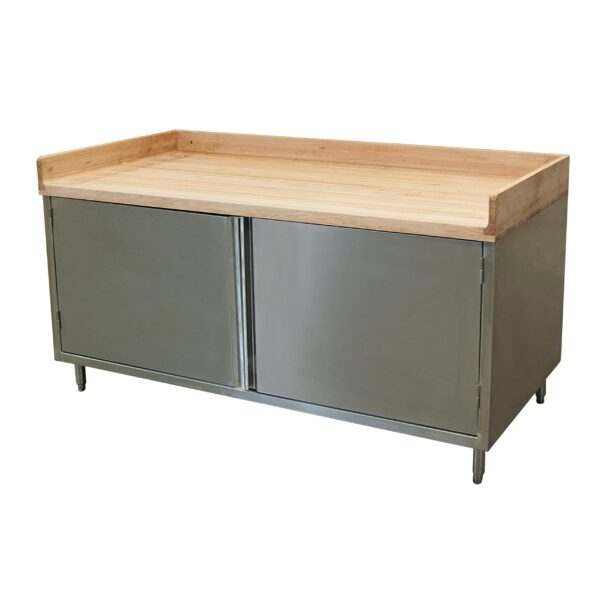 BK Resources CMBT-3672H Chef Table, cabinet base with …
