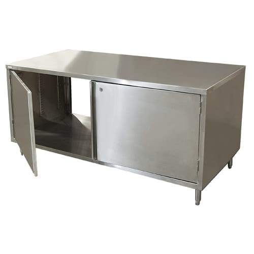 BK Resources CST-3072HL2 Dual Access Chef Table