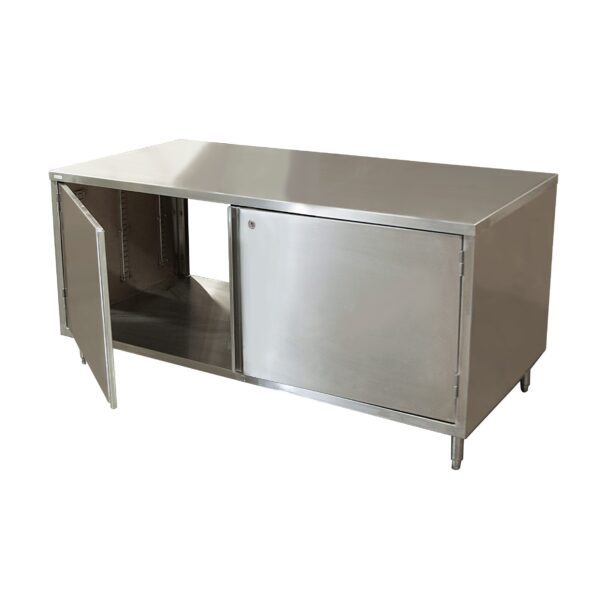 BK Resources CST-3672HL2 Dual Access Chef Table