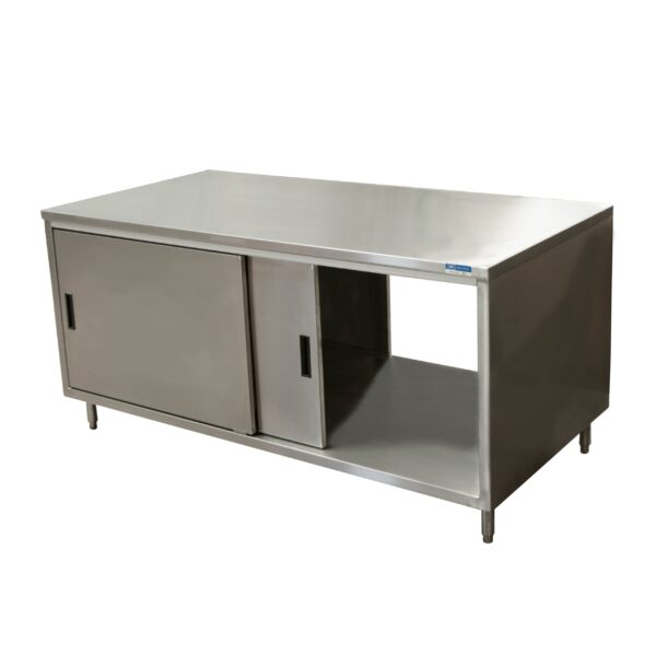 BK Resources CST-3672S2 Dual Access Chef Table