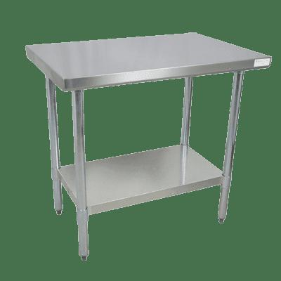 BK Resources CVT-7230 Work Table, 72″W x 30″D x 34-3…