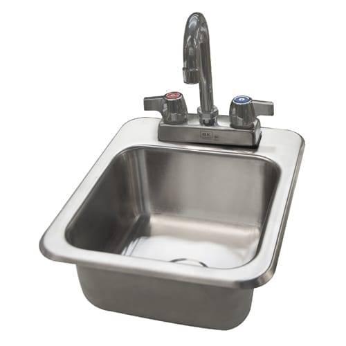 BK Resources DDI-0909524-P-G Deep Drawn Drop-In Sink