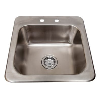 BK Resources DDI-1614824 Drop-In Sink, one compartment
