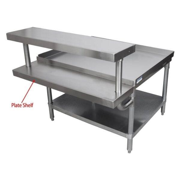 BK Resources EQ-PS60 Adjustable Plate Shelf, fits w…