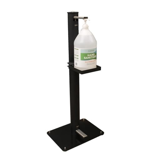 BK Resources FPSS-38 Foot Operated Sanitizer Stand,…