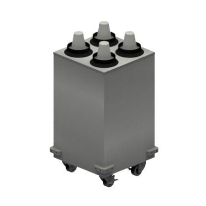 BK Resources MCD-2X2 Mobile Cup Dispenser