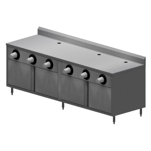 BK Resources MOD-BEVT Convenience Store Table, cabin…