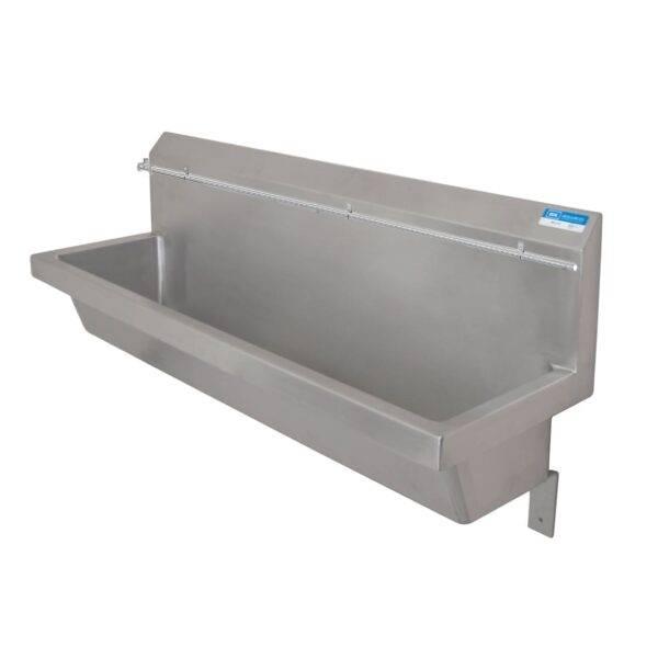 BK Resources MSU-96PG Urinal, wall mount design