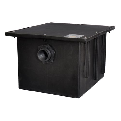 BK Resources PGT-30 Plastic Grease Trap, 30 lbs. g…