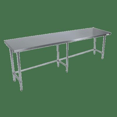 BK Resources QVTOB-9630 Work Table, 96″W x 30″D x 34-3…