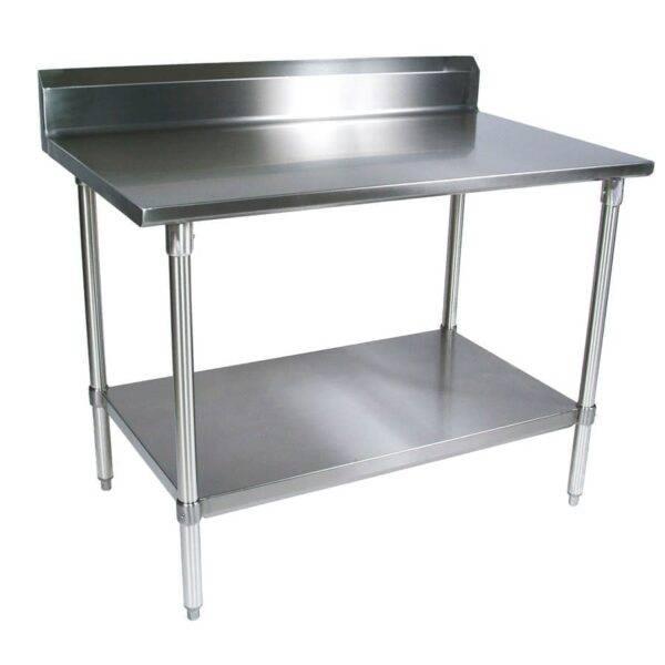 BK Resources QVTR5-4830 Work Table, 48″W x 30″D x 39-3…