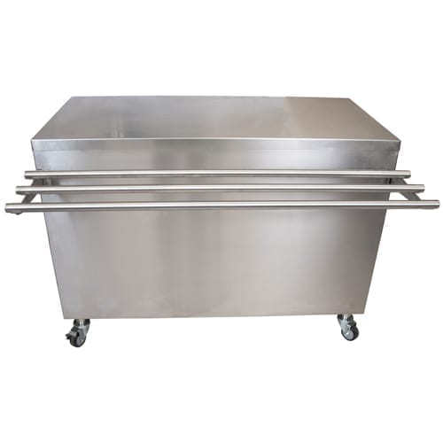 BK Resources SECT-2460HL Serving Counter with Hinged Door