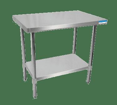 BK Resources SVT-1848 Work Table, 48″W x 18″D, 18/43…