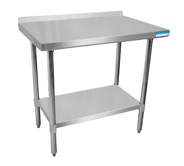 BK Resources SVTR-1830 Work Table, 30″W x 18″D, 18/43…