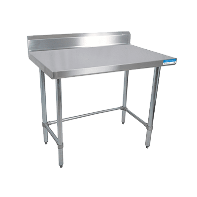 BK Resources SVTR5OB-4830 Work Table, 48″W x 30″D, 18/43…