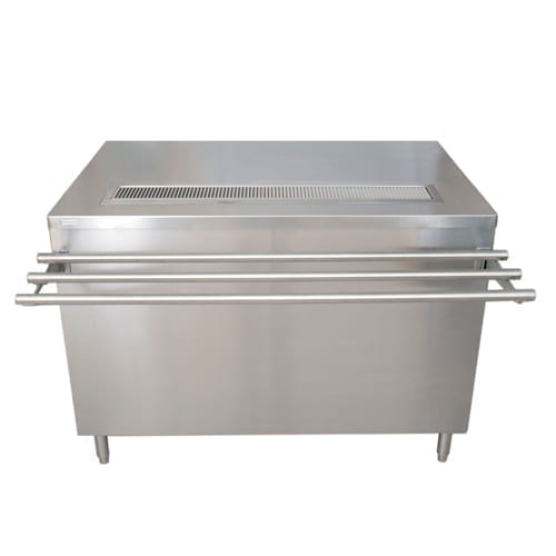 BK Resources US-3072C-HL Cashier-Serve Counter with Hinged doors & lock