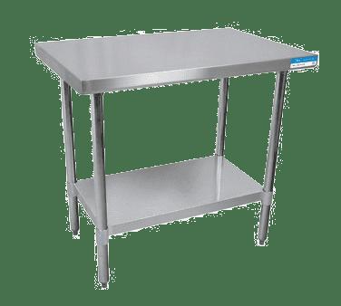 BK Resources VTT-2424 Work Table, 24″W x 24″D, 18/43…