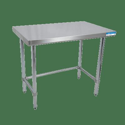 BK Resources VTTOB-1830 Work Table, 30″W x 18″D, 18/43…