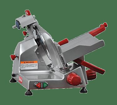 Berkel 825E-PLUS 10″ Manual Gravity Feed Meat Slicer – 1/4 hp