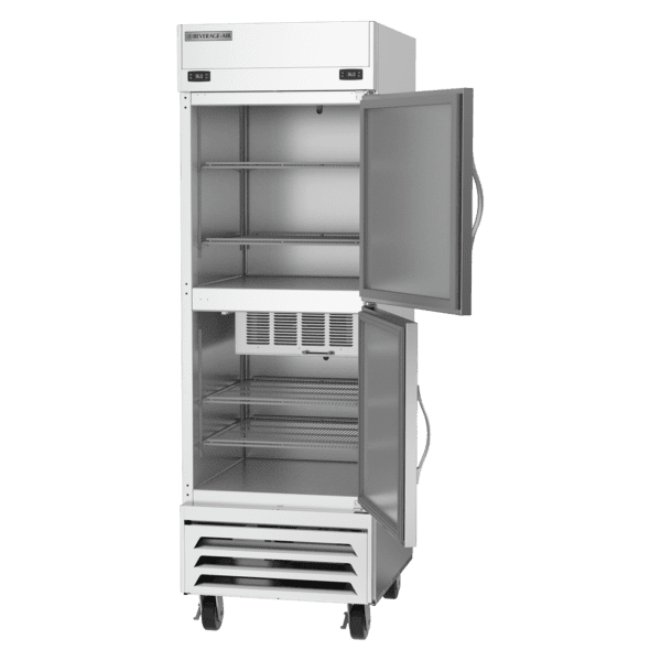 Beverage Air HBRF23HC-1-A  Horizon Series One (1) Section Dual Temperature Reach-In Freezer / Refrigerator