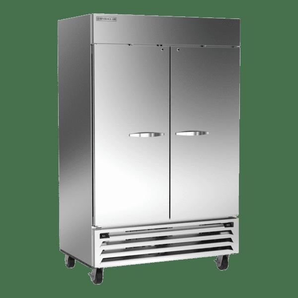 Beverage Air HBRF49HC-1-A Horizon Series 52″ Stainless Steel Solid Door Dual Temperature Reach-In Refrigerator / Freezer