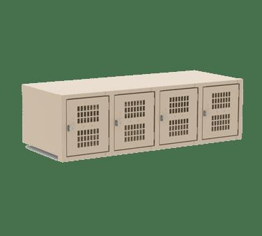 Choice Equipment EL-4-18-P-T Employee Locker, wall mounted,…