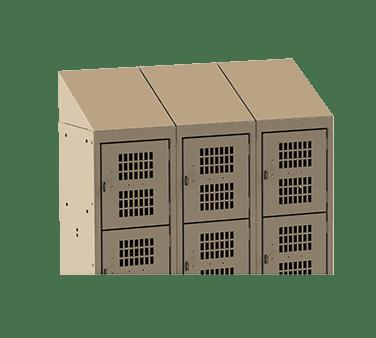 Choice Equipment EL-ST-12-3 Slant Top, for employee locker…