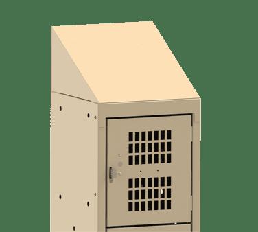 Choice Equipment EL-ST-15-1 Slant Top, for employee locker…