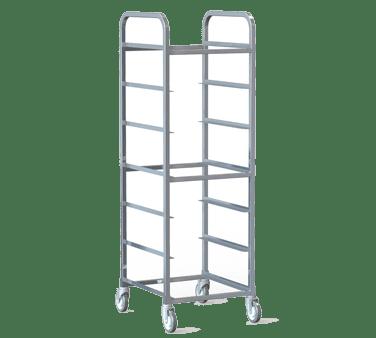 Choice Equipment PR58-A-820 Glass Tray Rack, 69″H, (8) 20″…