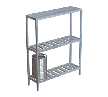 Choice Equipment SU45-8 Keg Rack Unit