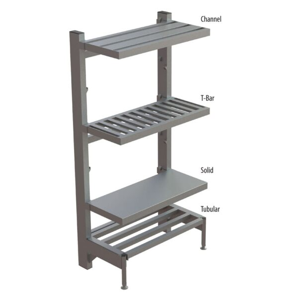 Shelving, Channel Cantilevered