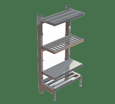 Choice Equipment SU65-3620-T Cantilever Shelf, tubular, 36″…
