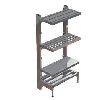 Shelving, Bar Style Cantilevered