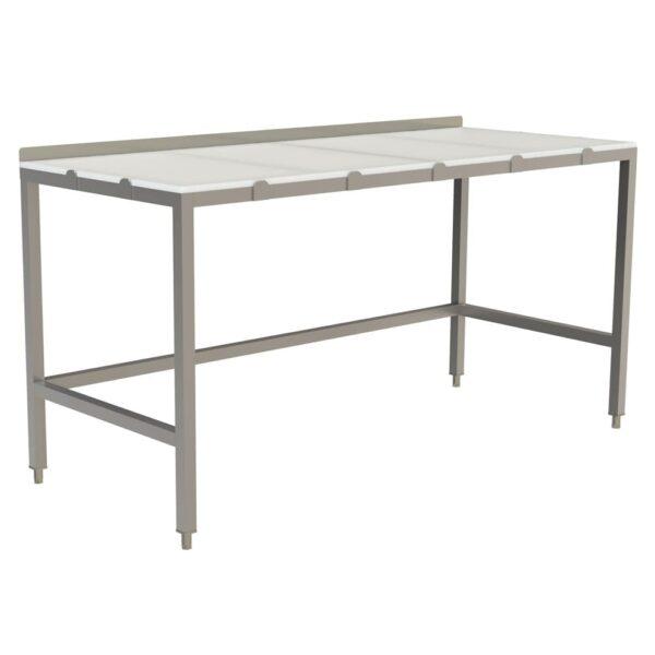Choice Equipment TB512-2484 Poly Top Work Table, 84″W x 24…